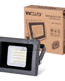 Прожектор светодиодный WFL-20W/03 5500K IP65 чёрный