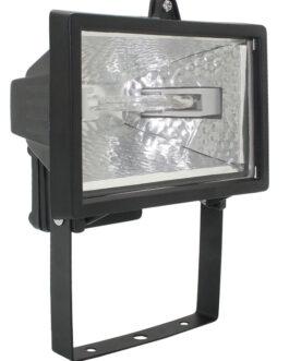 Прожектор ИО150П(переноска) галогенный черный IP54  ИЭК