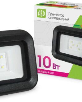Прожектор светодиодный ASD СДО-07-10Вт  230В 6500К  IP65
