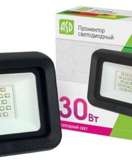 Прожектор светодиодный ASD СДО-07- 30Вт  230В 6500К  IP65