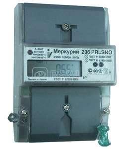 Счетчик Меркурий 206 N 5-60А 1ф 2 тариф. кл.т 1.0