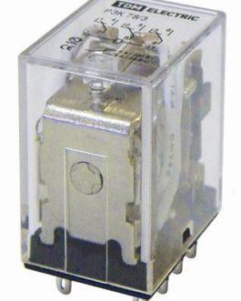 Реле РЭК78/3 5А  24В DC TDM